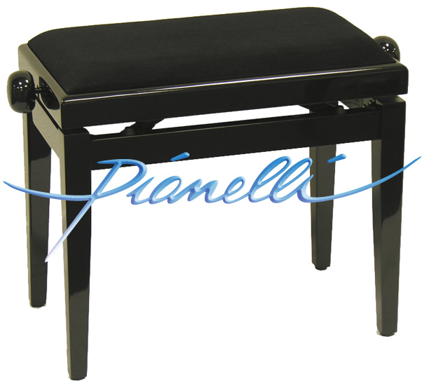 tabouret de piano banc de piano banc de piano noir neuf ebay. Black Bedroom Furniture Sets. Home Design Ideas