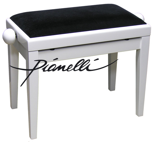 tabouret de piano banc de piano banc de piano blanc neuf ebay. Black Bedroom Furniture Sets. Home Design Ideas