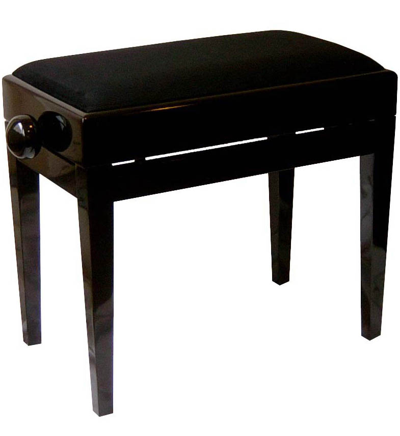 banc de piano tabouret de piano avec compartiment de note hoehenverstbar ebay. Black Bedroom Furniture Sets. Home Design Ideas