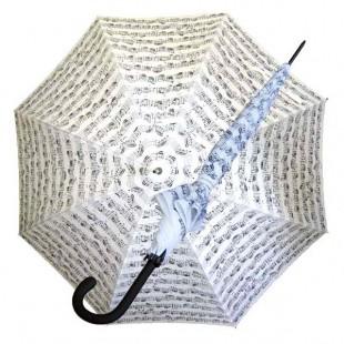 Regenschirm gross, Notenzeilen