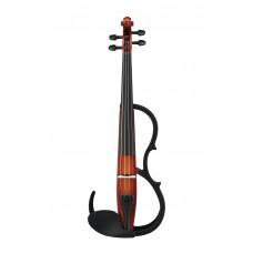 e-Geige Yamaha SV-250 Silent Violin BR braun 4/4