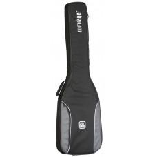 Tasche für E-Bass, 10 mm Polsterung, grau-schwarz