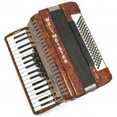 Weltmeister Piano Akkordeon Achat 80 34/80/III/5/3 Wurzeloptik