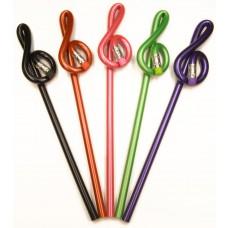 Bleistift Violinschlüssel