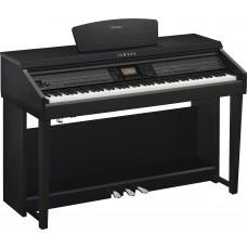 Digitalpiano Yamaha Clavinova CVP-701 B schwarz Set