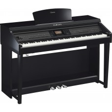 Digitalpiano Yamaha Clavinova CVP-701 PE schwarz poliert Set