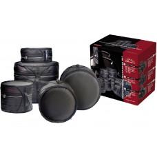 Deluxe Schlagzeugtaschensatz 1 x BD-22, 2 x TT, 1 x FT16, + Snare