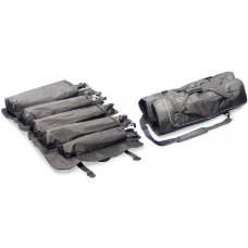 Stagg strapazierfähige Nylonfalttasche für 3 Beckenständer + 2 diverse