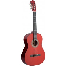 Konzertgitarre Stagg c542, rot