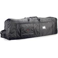 Deluxe Nylon Keyboard Tasche, 143 x 53,2 x 18cm, 18mm Polster, schwarz
