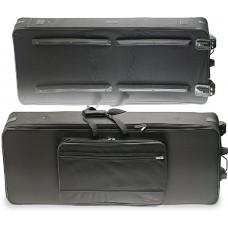 Softcase für Keyboards, mit Rollen 143 x 53.2 x 18cm