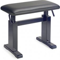 Hydraulische Klavierbank mit schwarzem echt-Leder