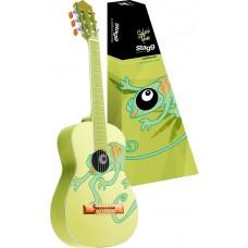 Klassik-Gitarre, Kindergitarre, Chameleon, Größe 3/4