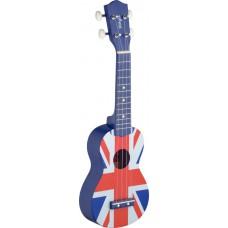 Sopran-Ukulele UK-Flagge