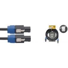 Lautsprecherkabel: 6 Meter - SpeakON / SpeakON, 4-Pin, 2 angeschl.