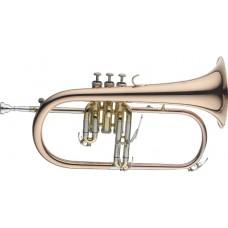 B-Flügelhorn, im Softcase, Monel Ventile