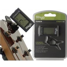 Clip Stimmgerät Tuner mit Hygrometer und Thermometer