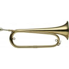 B-Clairon, Signalhorn mit Tasche
