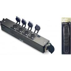 X-Series Neutrik SpeakON 8-pin an 4x 4-pin Verteiler