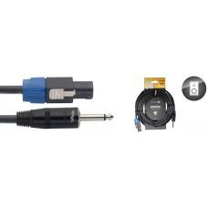 Lautsprecherkabel Speakonstecker/ Klinke, 10 Meter, 2 x 1,5mm2, 4-Pin/ 2 angeschl