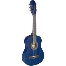 1/4 klassik-Gitarre blau matt