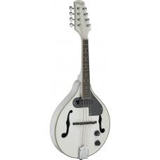 Bluegrass Mandoline mit Tonabnehmer in weiss