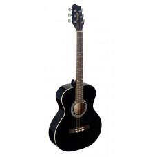 Western Gitarre, Grand Auditorium, schwarz