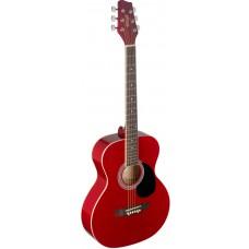 Western Gitarre, Grand Auditorium, rot
