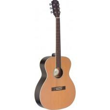 4/4 Akustikgitarre mit massiver Decke aus Zeder, Ezra Serie