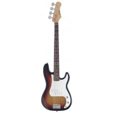 E-Bassgitarre, Stagg, P300-SB in sunburst