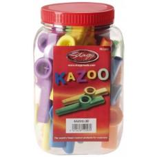 Kazoo aus Kunststoff, Box mit 30 Stück