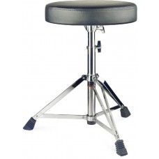 Drumhocker, doppelstrebig, schwarz-Chrom, 3,1 kg,