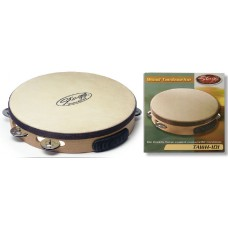 "10"" vorgestimmtes Holz-Tambourin"