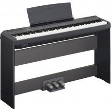 Yamaha E-Piano P115 BK schwarz Set 2 mit festem Ständer und Pedaleinheit
