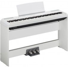 Yamaha E-Piano P115 WH weiß Set 2 mit festem Ständer und Pedaleinheit