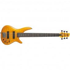 E-Bass Ibanez GVB1006-AM Amber