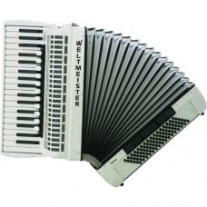 Piano Akkordeon Topas IV in weiß
