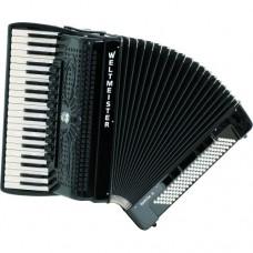 Akkordeon Supita II Meisterinstrument (Klassisches Cassotto) Supita II Kinnregister 41/120/IV/11(3)/5 schwarz oder weiß