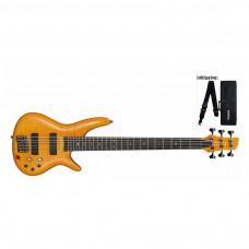 E-Bass Ibanez GVB36-AM