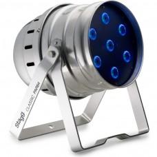 LED Spot mit 7 extrem hellen 8W (4 in 1) LEDs, Aluminium Gehäuse