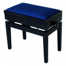 Klavierbank original Burghardt B8 mit echt-Leder