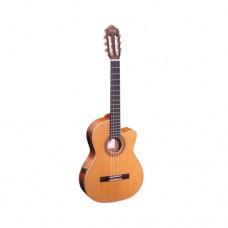Elektrifizierte Konzertgitarre RCE131SN Ortega