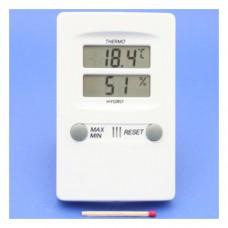 Digital-Hygrometer /Thermometer weiss, mit MIN/MAX-Wertspeicher