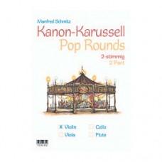 Kanon Karussell - Pop Rounds für Viola, 48 Seiten, 610342