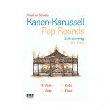 Kanon-Karussell - Pop Rounds für Viola, 40 Seiten, 610346