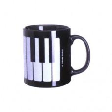 Henkelbecher, Tastatur, schwarz
