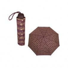 Regenschirm klein, Noten, Musiker, Bordeaux
