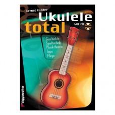 Gernot Rödder - Ukulele total, deutsche Ausgabe, mit CD, VR399