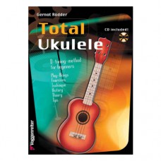 Gernot Rödder - Total Ukulele english version, inkl. CD, VR446
