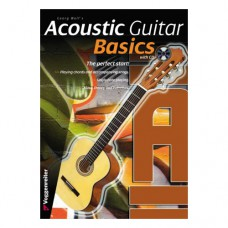 Georg Wolfs - Acoustic Guitar Basics, english version, 64 pages, CD included